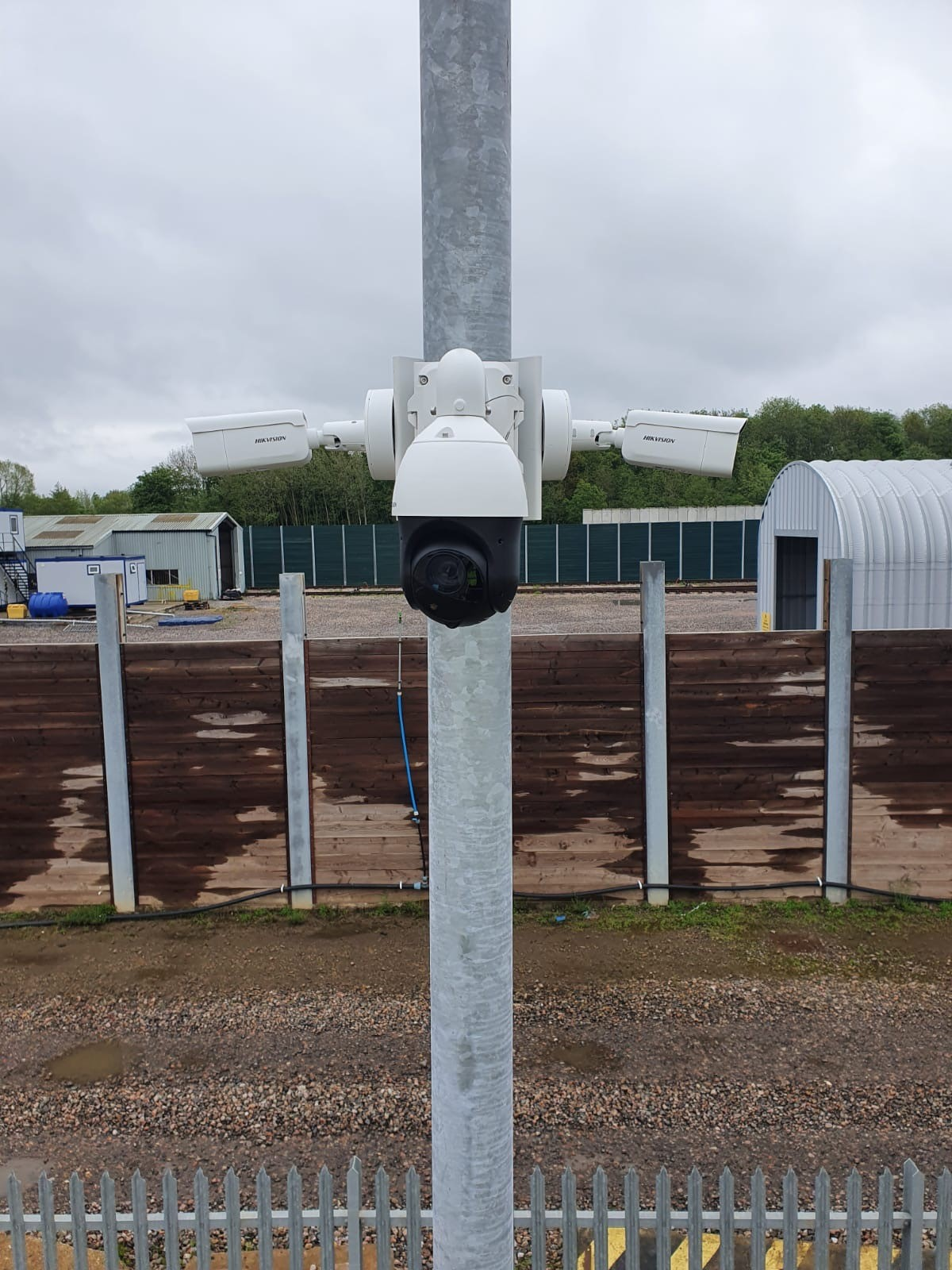 Future Tech Security Solutions - CCTV Camera Installation on a Pole