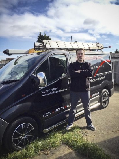 Future Tech Security - Tony & Van